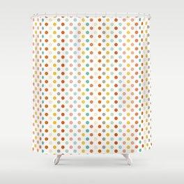 Polka Up Shower Curtain
