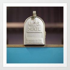 Mail Call Art Print