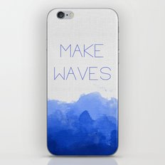 Make Waves  iPhone & iPod Skin
