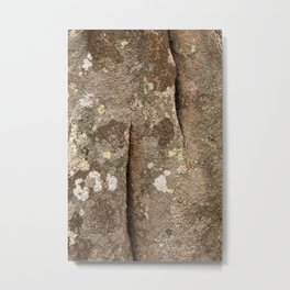 Megalith Stone Texture Metal Print