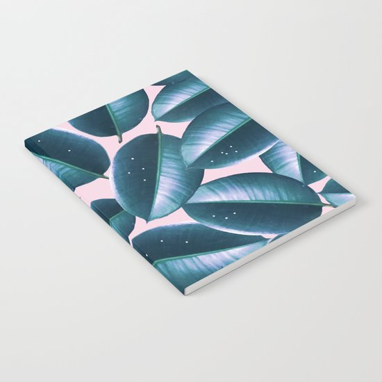 Rubber Plant Cure #society6 #decor #buyart Notebook