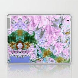 Lilac Dreams Fractal Abstract Laptop & iPad Skin