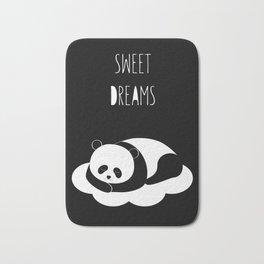 Sweet dreams with panda Bath Mat