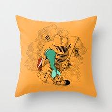 Mer'MEAL Throw Pillow