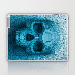 Pixel skull Laptop & iPad Skin
