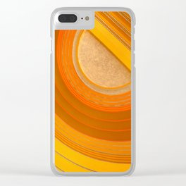 Union Terminal Ceiling 1 Clear iPhone Case