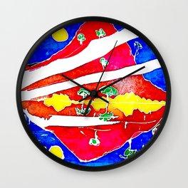 REFLECTION          by Kay Lipton Wall Clock