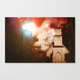 Deepwoods Grove Church Canvas Print