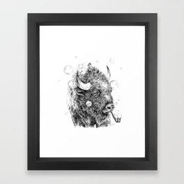 Buffalo Detective Framed Art Print