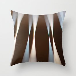 Abstract Guitar Throw Pillow