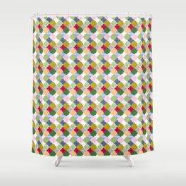 Bustan cells Shower Curtain