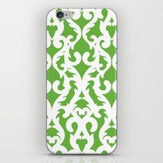 Modern Baroque Green iPhone & iPod Skin