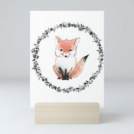 Lil' Fox Kit Mini Art Print