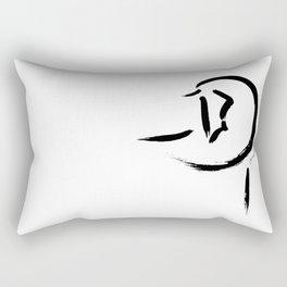 "Chinese Horse ""Reflection"" Rectangular Pillow"