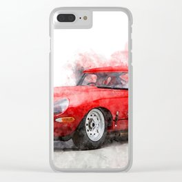 E-Type Lightweight Clear iPhone Case