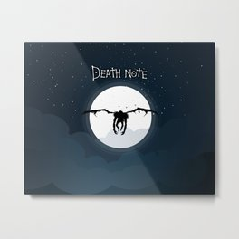 The god of death Metal Print