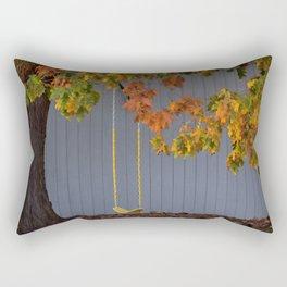 Empty Swing Rectangular Pillow