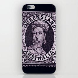 Queensland Stamp iPhone Skin