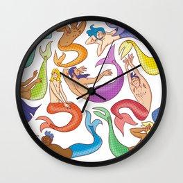 Mermen Wall Clock