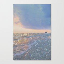 Magic ocean Canvas Print