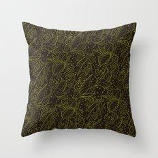 ayahuasca autumn (variant) Throw Pillow