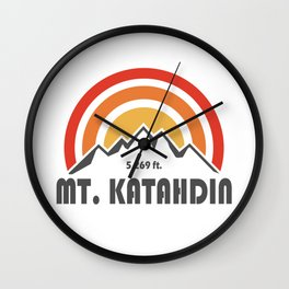 Mt. Katahdin Wall Clock