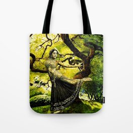Beneath the Bodhi Tree Tote Bag