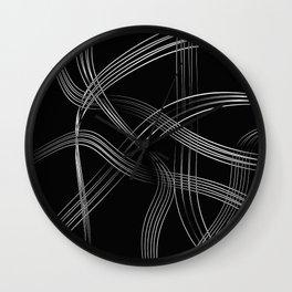 Crystal Strings 2 Wall Clock