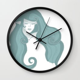 Nayru - The Goddess of Wisdom (no background) Wall Clock