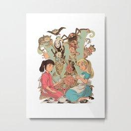 Wonderlands Metal Print
