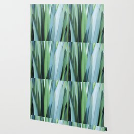 blue and green leaves Wallpaper