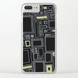Screw You Ruler Said Rectangle Clear iPhone Case