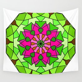 Mandala - spiritual and ritual symbol in Buddhism Wall Tapestry