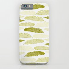 Feathers - Sage Slim Case iPhone 6s