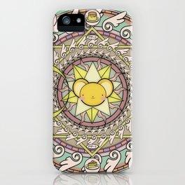 Cuteness Mandala iPhone Case