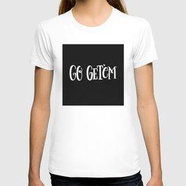 Go Get'em: black T-shirt