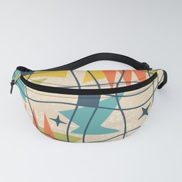 Mid Century Modern Abstract Pattern 761 Fanny Pack