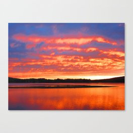 Rippling Clouds Canvas Print