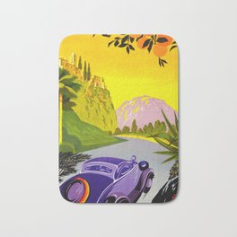 Visit Greece in Auto Travel Bath Mat