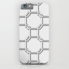 Turandot Chinoiserie Lattice Chromium iPhone Case