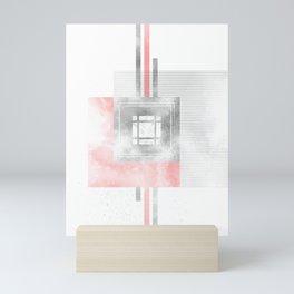 SCANDINAVIAN DESIGN No. 90 living coral Mini Art Print