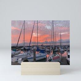 Elliott Bay at Sunset Mini Art Print