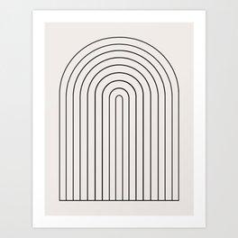 Minimalist Arch IV Art Print