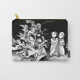 The Inferno: Selfiesticks (linework edition) Carry-All Pouch