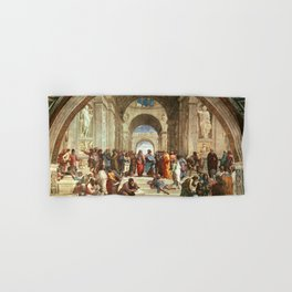 School Of Athens Painting Hand & Bath Towel