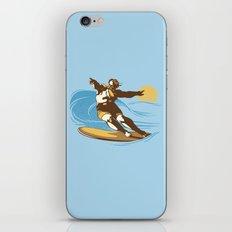 God Surfed iPhone & iPod Skin