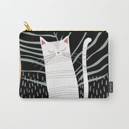 Cat Meditation Carry-All Pouch