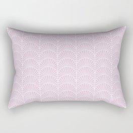 Art Deco Lavender Fields by Friztin Rectangular Pillow