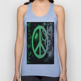 Peace and Bubbles Unisex Tank Top