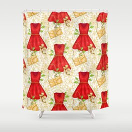 Chistmas fashion Shower Curtain
